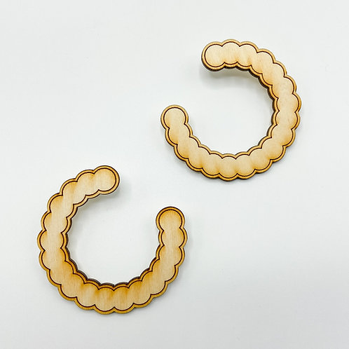 D'Fresh Hoops by Charisma Eclectic
