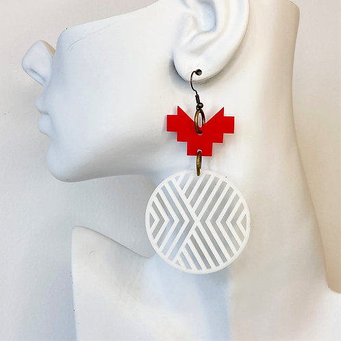 Down to Earth Earrings by Charisma Eclectic