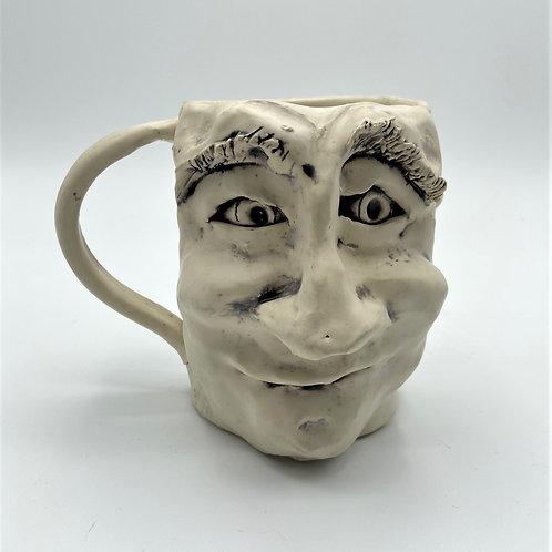 Face Mug by Carl Wagoner