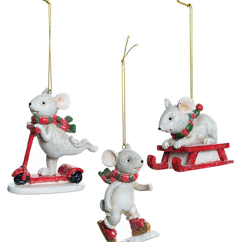 Playtime Mouse Ornament