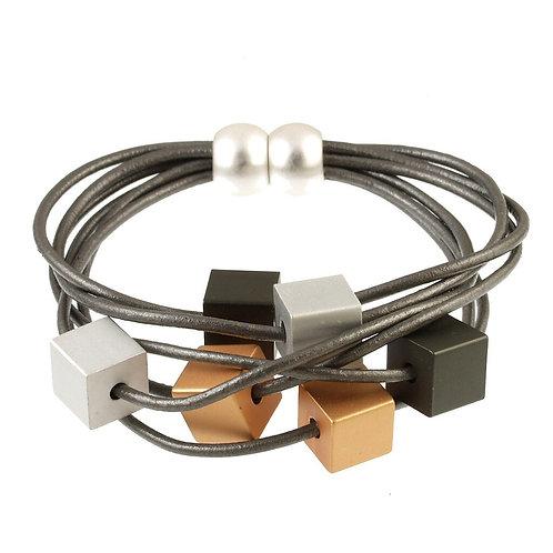 Multi Cube Bracelet by Origin Jewelry