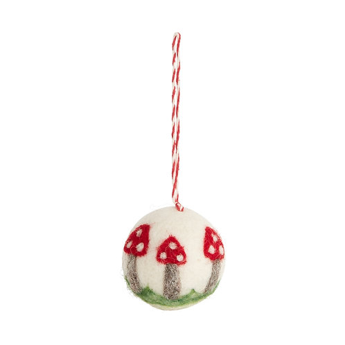 Fun Fungi Ornament