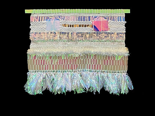 """Iri"" Weaving by Melissa Yungbluth"