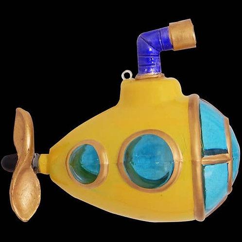 Yellow Submarine Ornament