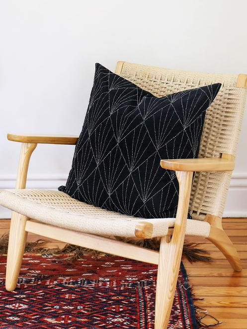 Array Throw Pillow by Anchal Project