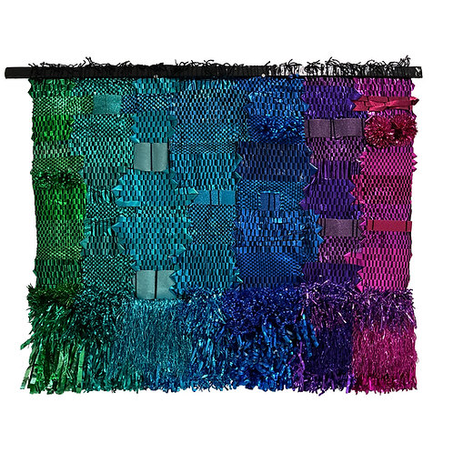 """""""Party"""" Weaving by Melissa Yungbluth"""