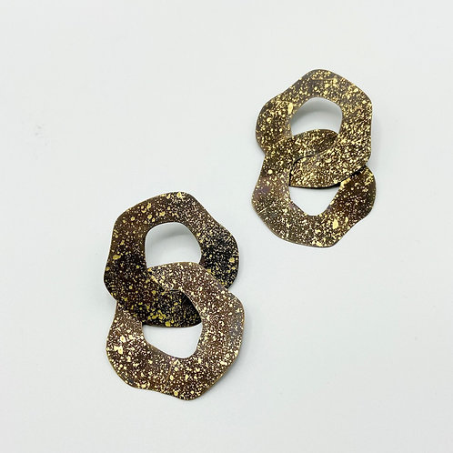 Dos Manchas Earrings by Sibilia