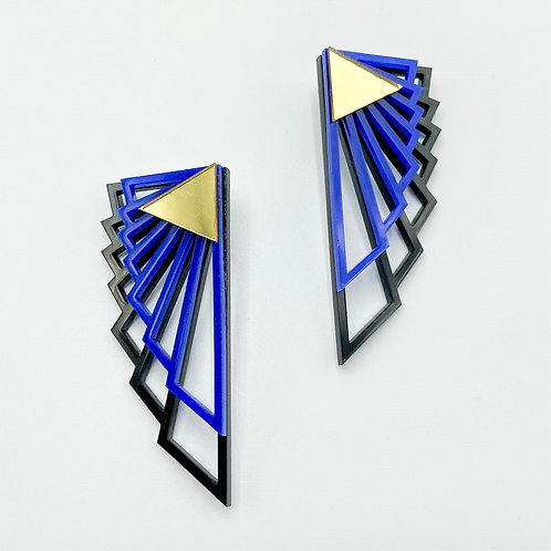 Indigoh Earrings by Charisma Eclectic