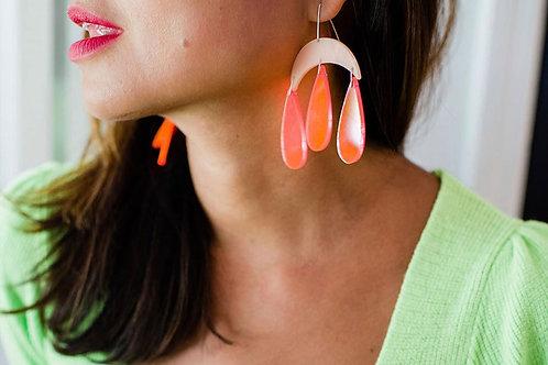 Moon Earrings by Zass Designs