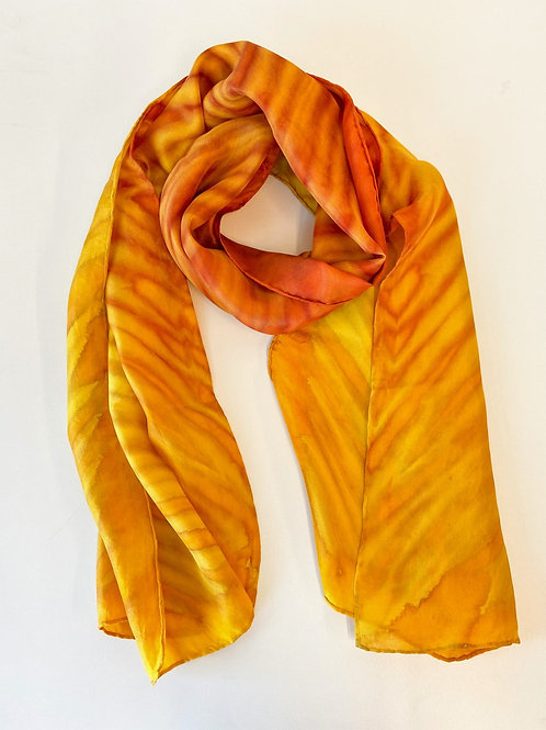 Habotai Silk Scarf by Laverne Zabielski