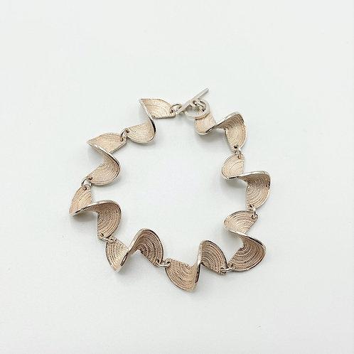 Medium Twist Bracelet by Tip-To-Toe Jewelry