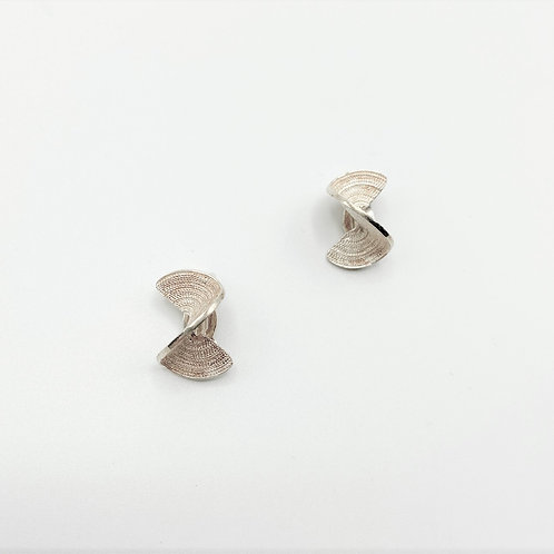 Medium Twist Clip-on Earrings by Tip-To-Toe Jewelry