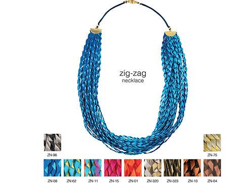 Zig-Zag Necklace by Alexandra Tsoukala