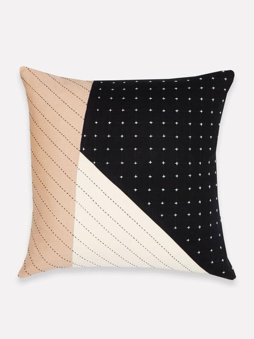 Saral Colorblock Throw Pillow by Anchal Project