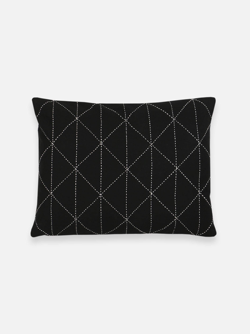 Small Graph Throw Pillow by Anchal Project