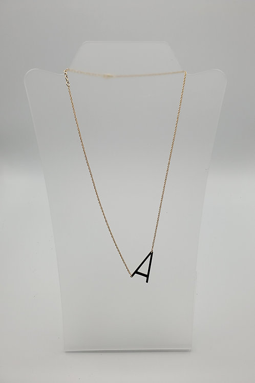 Initial Necklace by Kris Pettit