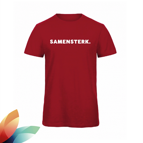 MAN: T-shirt SAMENSTERK.