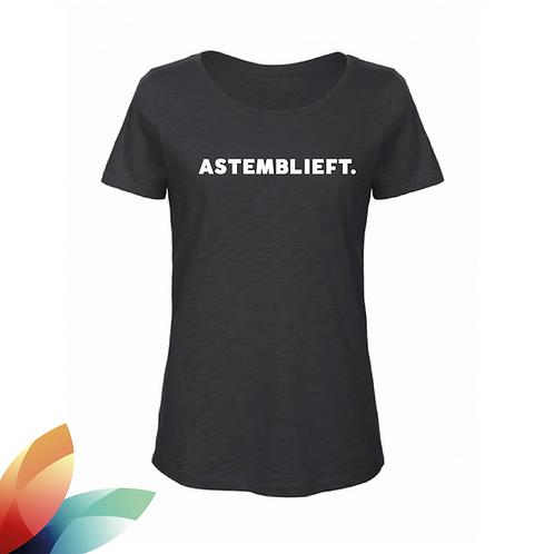 VROUW: T-shirt ASTEMBLIEFT.