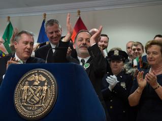 NY Times Covers City's St. Patrick's Parade Controversy