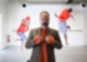 Sean with Dancers by David Samuel Stern.