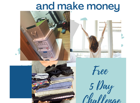 Declutter your home and make money