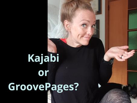 GroovePages vs. Kajabi
