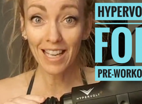 Using Hypervolt (Percussion massage) BEFORE your workout
