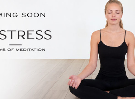 Unstress: 21 Days of Meditation for Relaxation, Calm, and Less Anxiety