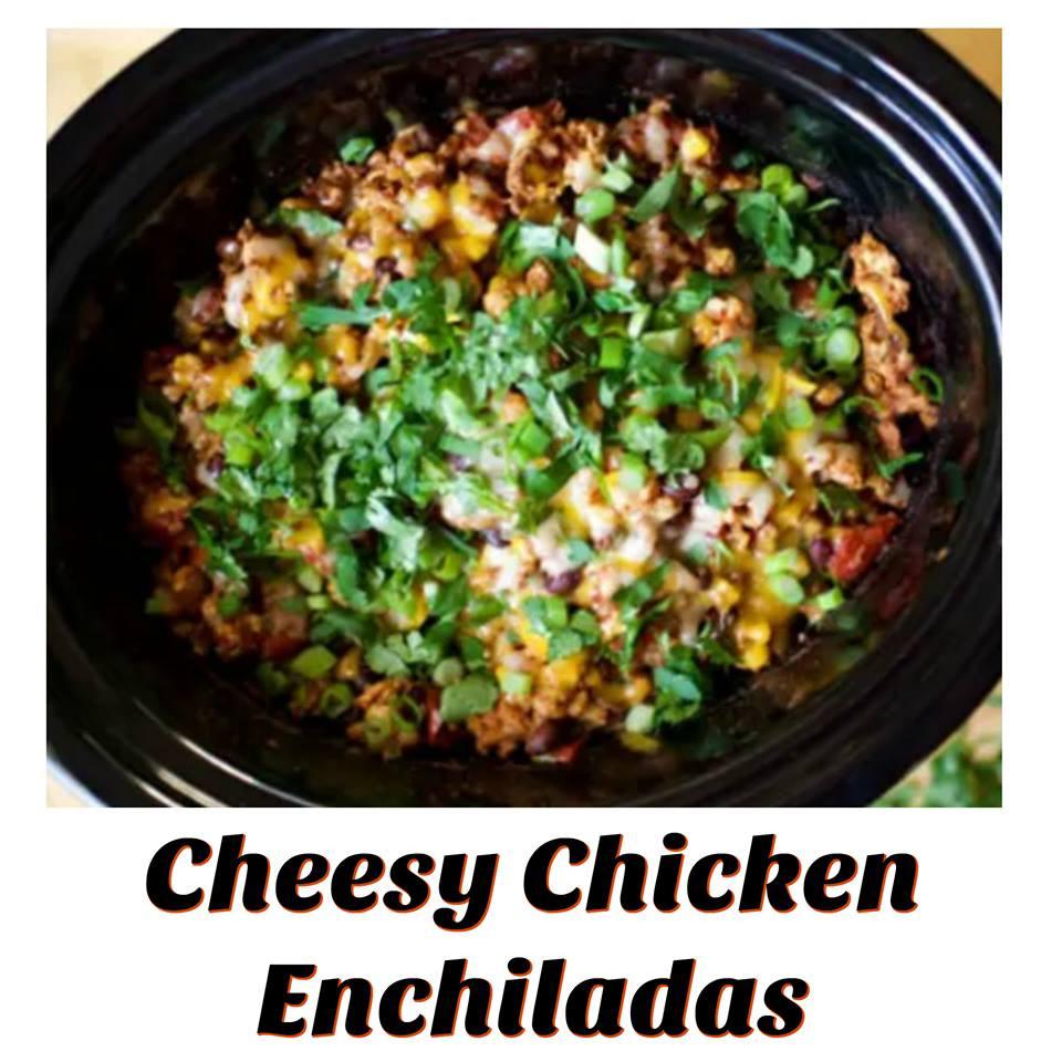 Crockpot, Chicken Enchiladas