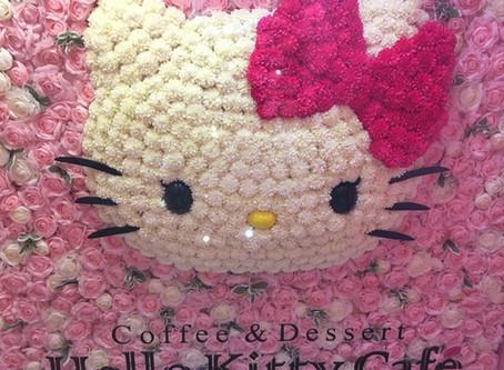 Hello Kitty Cafe in Seoul, South Korea