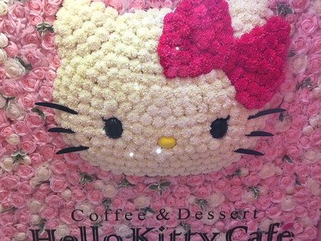 Hello Kitty Cafe in Seoul, South Korea