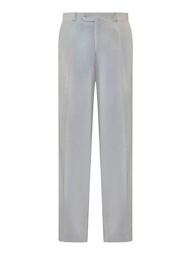 Off-White Wool Pants