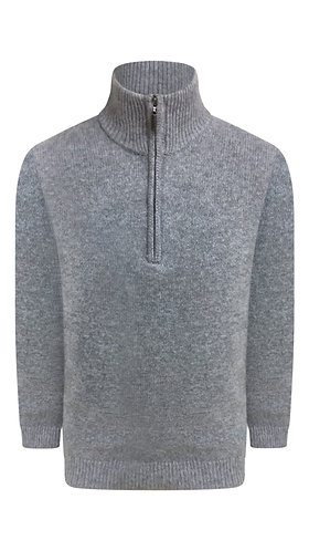 Light Gray Cashmere Sweater