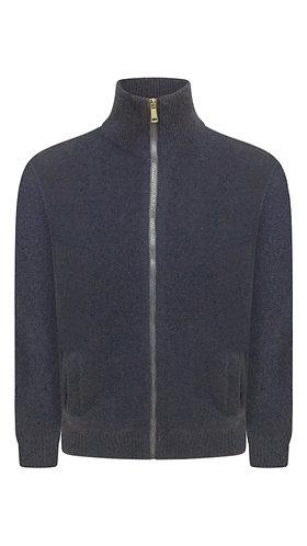 Midnight Blue Cashmere Sweater