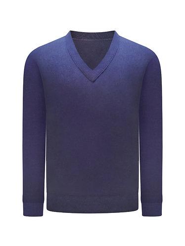 Vee Neck  Luxury Sweater