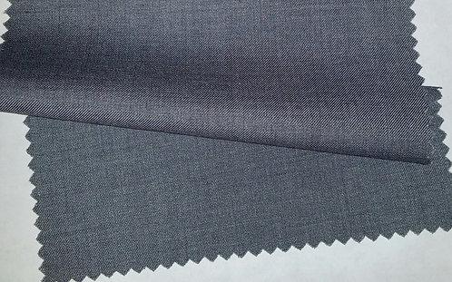 100% Wool Fabric(Grey)