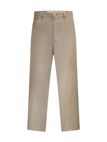 Beige Jeans Style Pants