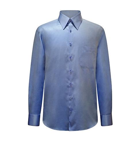 Modern Blue Shirt