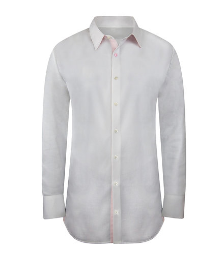 Modern White Shirt