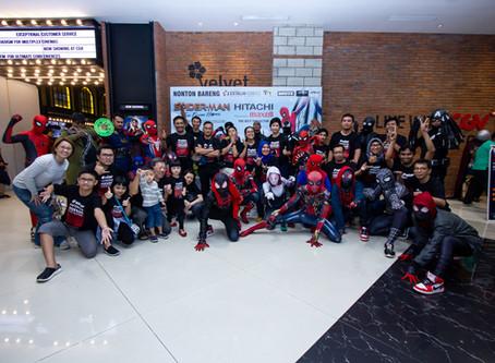 Maxell Hitachi Nonton Bareng Spiderman Far From Home!
