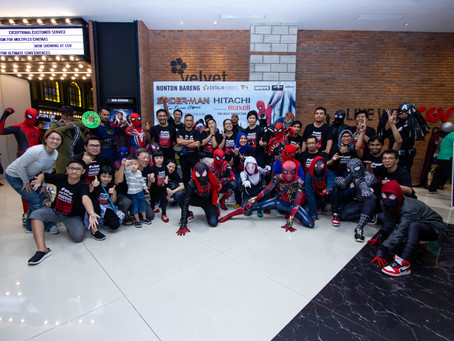 Maxell Hitachi Nonton Bareng Spiderman Far From Home!