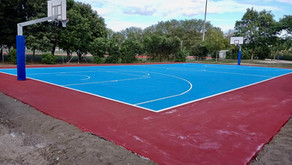 Nuovo campo basket in resina - Olbia