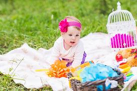 adorable-baby-girl-smile-picnic-playful-