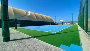 Cus Monserrato - campo basket in piastre multisport