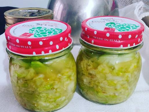 Le ricette - Ecco a voi la seconda produzione di #fermentati: i crauti