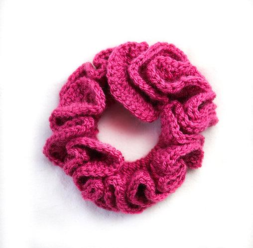 Scrunchies Pink Satin