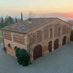 Podere San Giorgio - The barn
