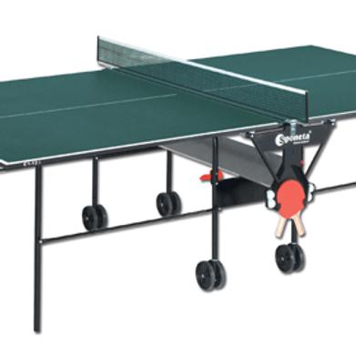 Tavolo tennis per interno pieghevole e mobile su ruote