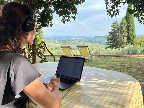 Podere San Giorgio - Remote working
