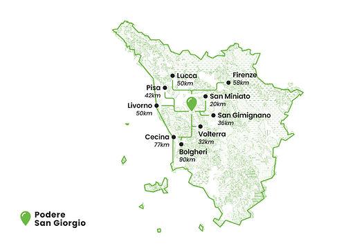 Podere San Giorgio - Where